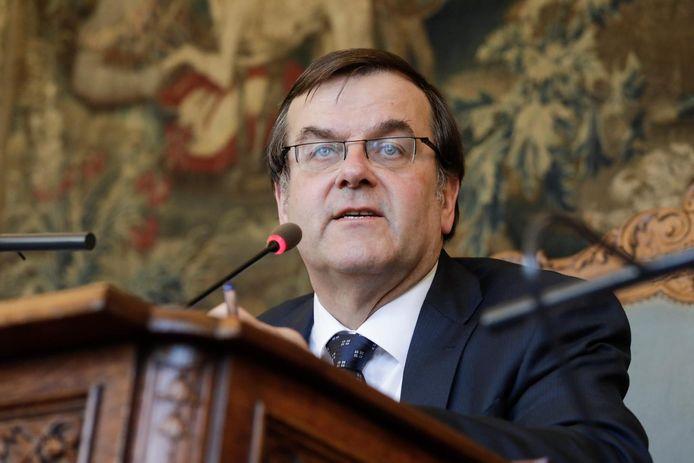 Willy Demeyer, burgemeester van Luik.