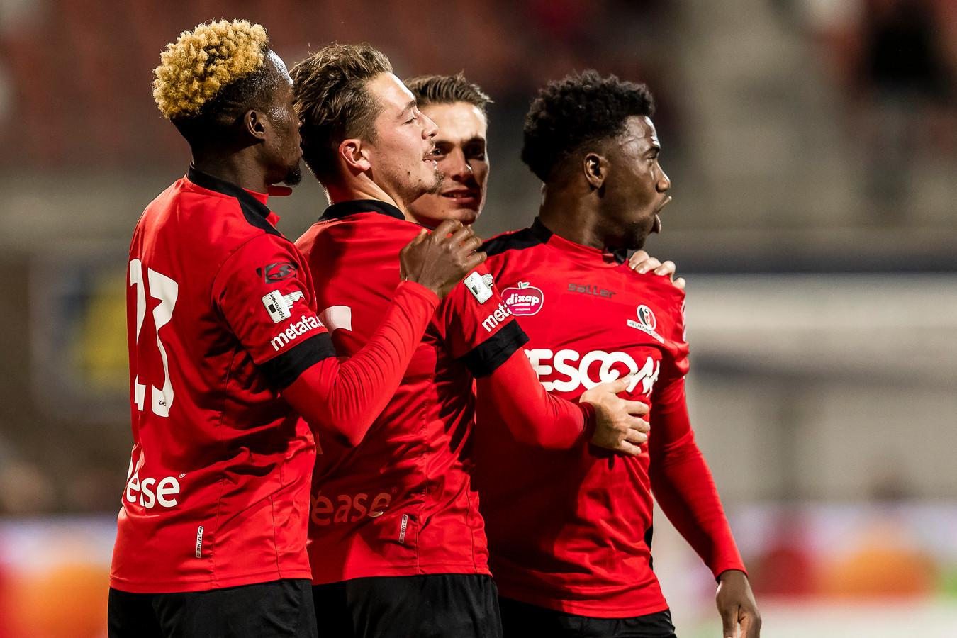 Helmond Sport wint van Jong FC Utrecht