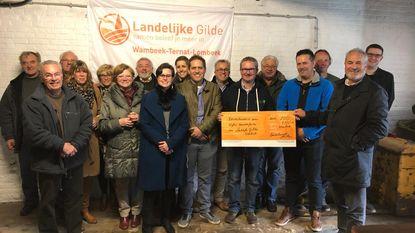 Landelijke Gilde schenkt 700 euro aan 'Wammekse Feesten'