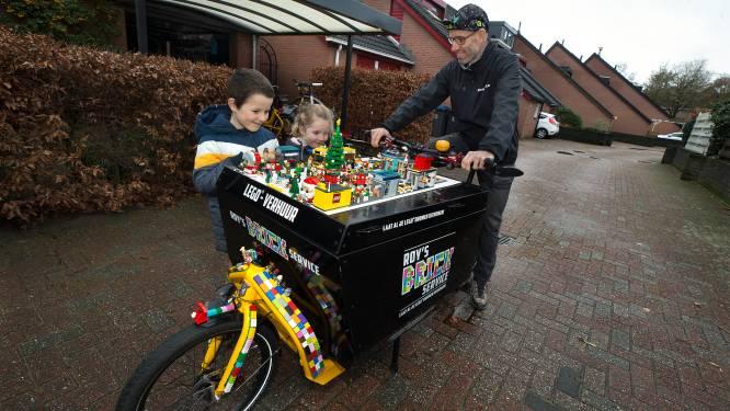 Lego aan huis is een gat in de markt: Roy (41) gaat populair speelgoed verhuren