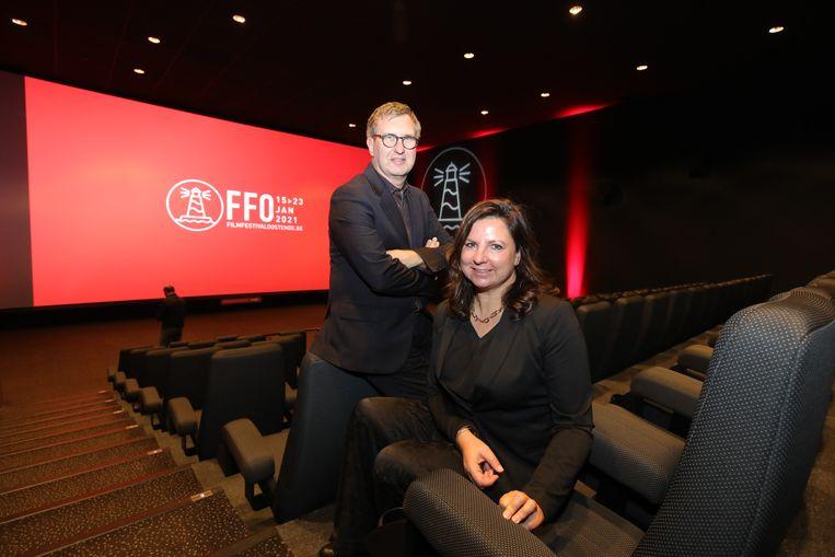 De film 'Red Sandra' van Jan Verheyen en zijn vrouw Lien Willaert  die het Filmfestival Oostende normaal zou openen, blijft een van de hoogtepunten van de FFO Nights 2021.  Beeld Benny Proot