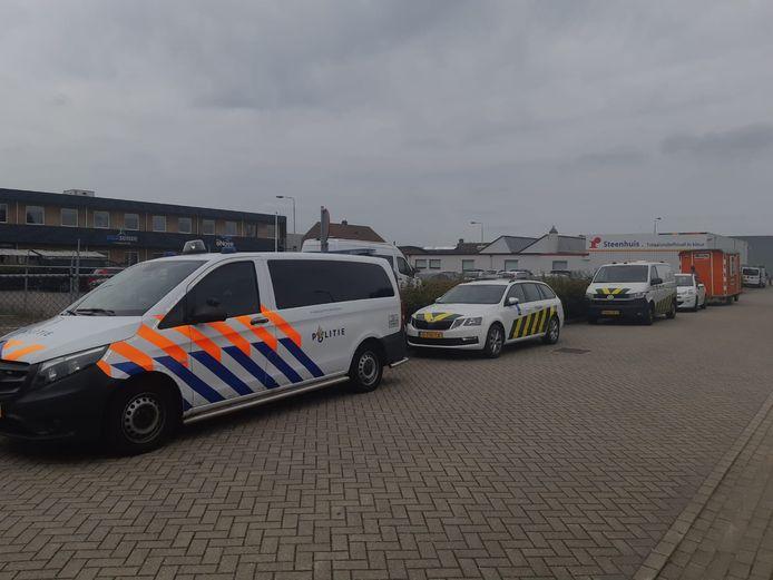 Meerdere overheidsinstanties waren betrokken bij de controle in Zutphen.