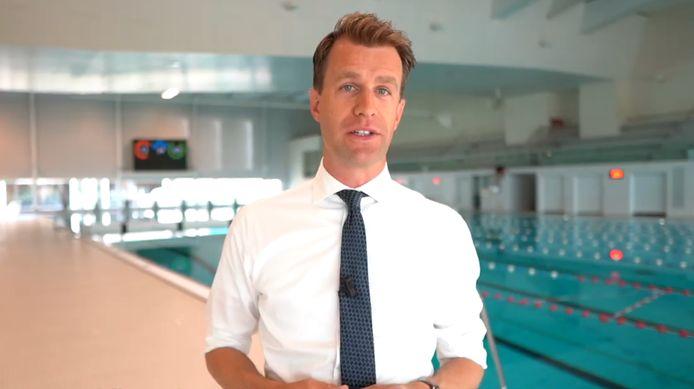 Hilbert Bredemeijer: ,,Iedereen met kleine kinderen weet hoe belangrijk zwemles is.''