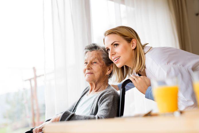 Illustratiebeeld: het welzijn van senioren.
