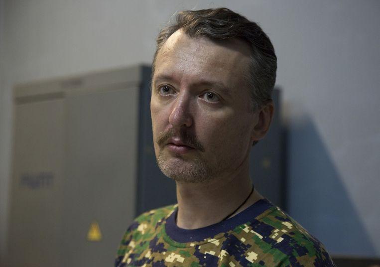 Opperbevelhebber Igor Strelkov, bijnaam: Igor de Verschrikkelijke. Beeld AP