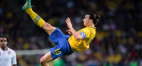 Ibrahimovic (39) na vijf jaar terug bij Zweden: 'The return of the God'