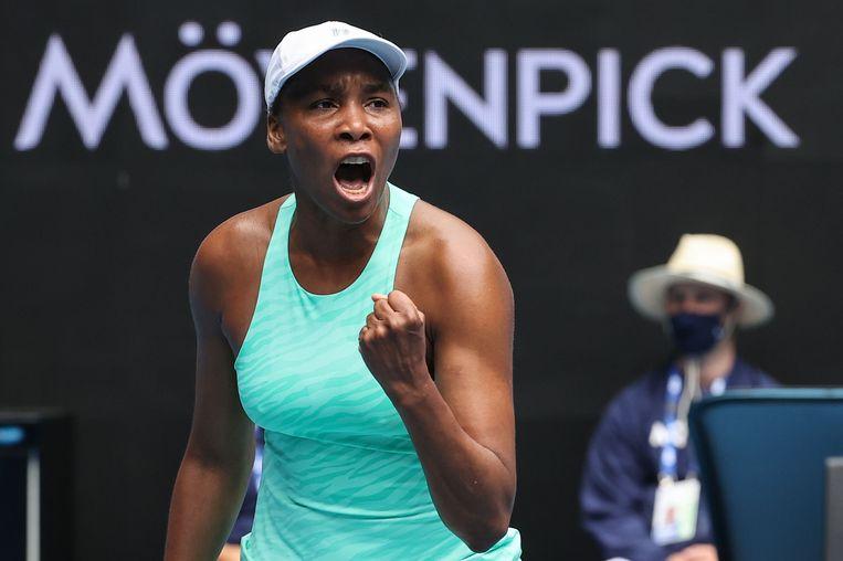Venus Williams. Beeld AFP