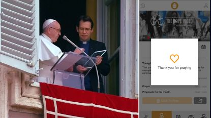VIDEO. Paus Franciscus lanceert gebedsapp 'Click to pray'