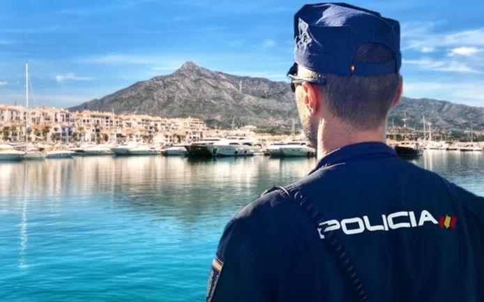 La police a déployé les grands moyens pour retrouver l'homme, qui avait été enlevé à Marbella le 1er juin dernier (montage HLN).