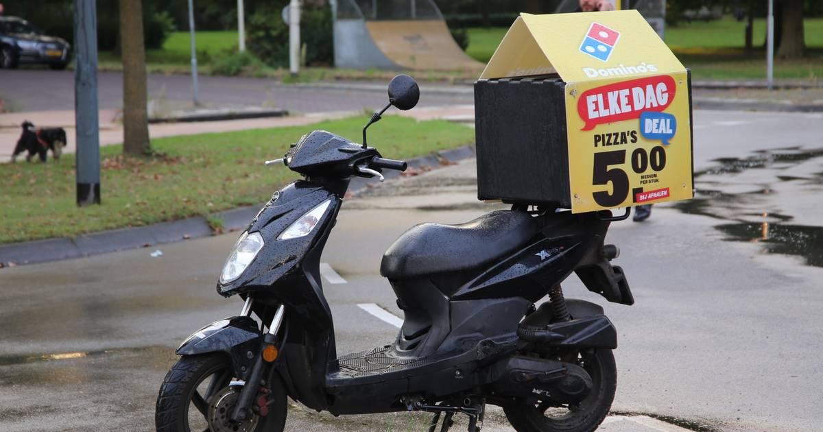 Pizzabezorger naar ziekenhuis door ongeluk in Oirschot.