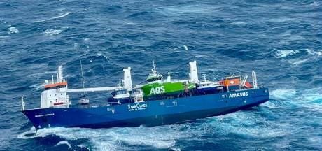 Boskalis gaat Nederlandse vrachtschip dat stuurloos voor Noorse kust drijft bergen