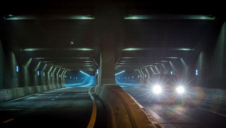 Het beton in de Tweede Coentunnel is mogelijk minder brandwerend dan gedacht Beeld anp