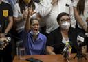 De moeders van twee gearresteerde studenten pleiten voor hun vrijlating.
