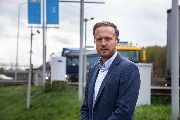 """Tim Steffens, havenmeester van haven- en industrieterrein Moerdijk: ,,Honderd procent veiligheid is nooit te garanderen."""""""