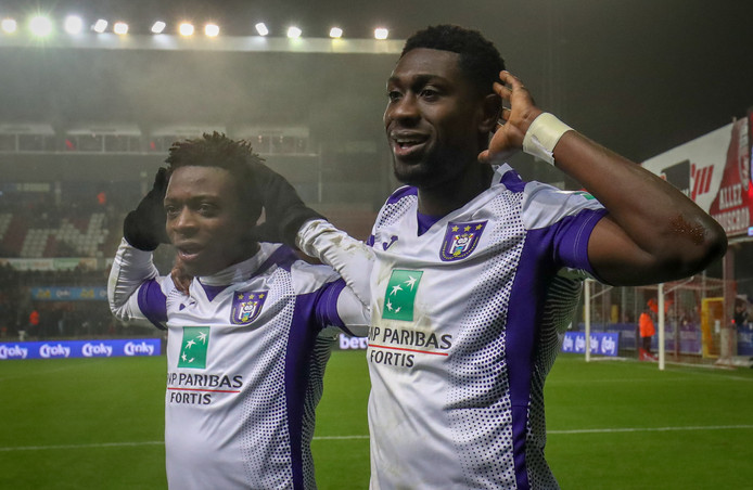 Jérémy Doku et Derrick Luckassen ont ouvert le chemin des quarts de finale à Anderlecht.