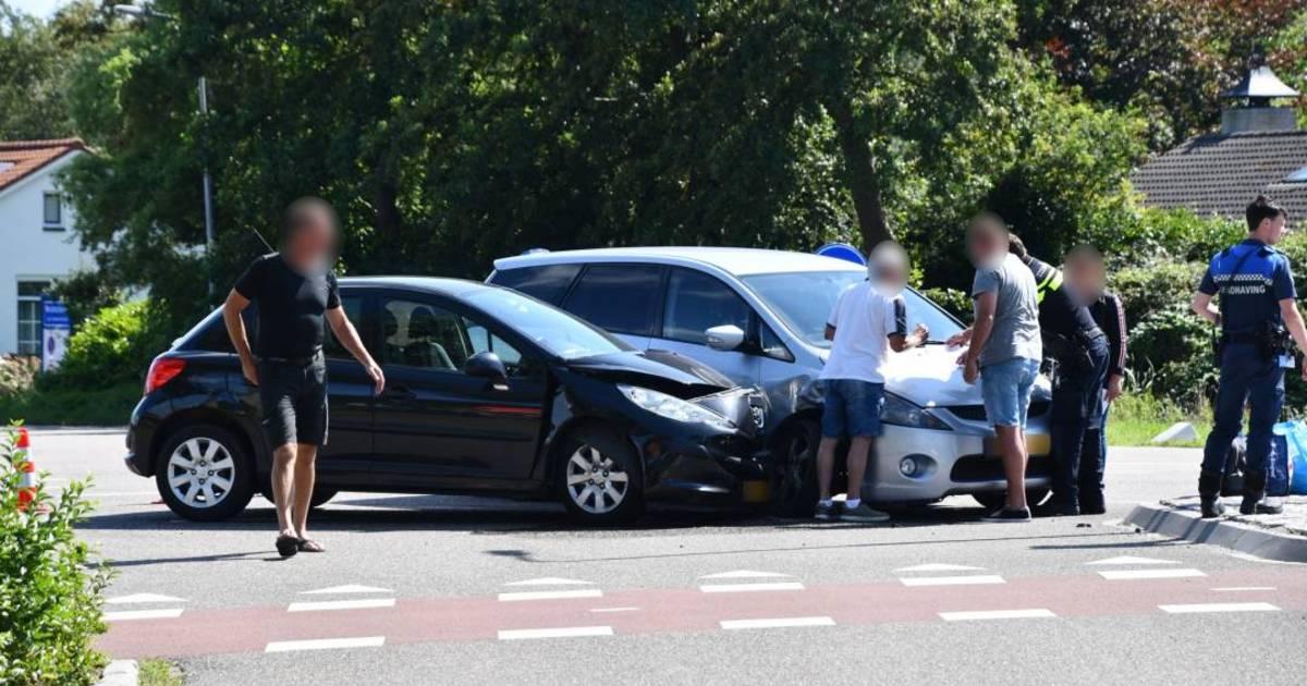 Gewonde bij ongeluk in Burgh-Haamstede.
