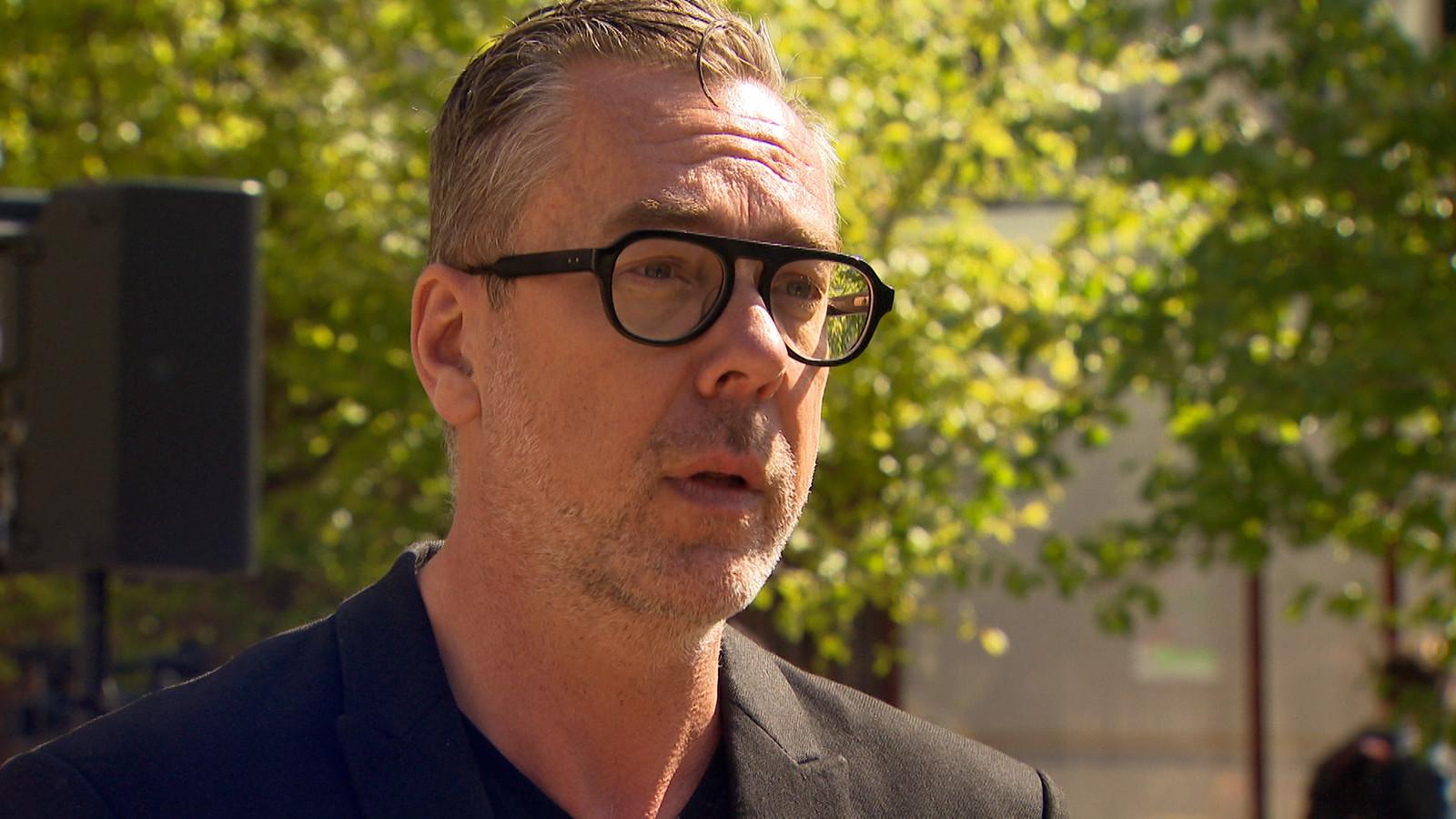 Franky Devos, algemeen coördinator van het Gentse kunstencentrum.