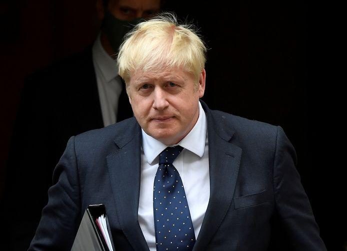 De Britse premier Boris Johnson stelde voor de belastingen te verhogen.