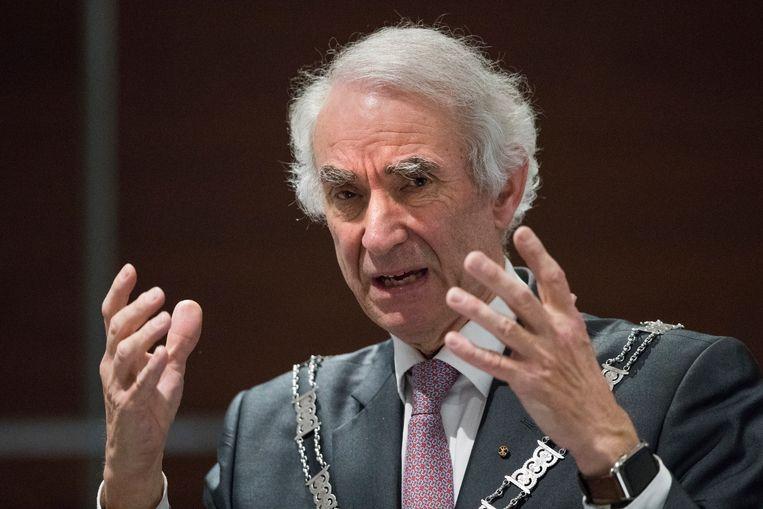 Gerd Leers, hier als waarnemend burgemeester van Brunssum. Beeld ANP