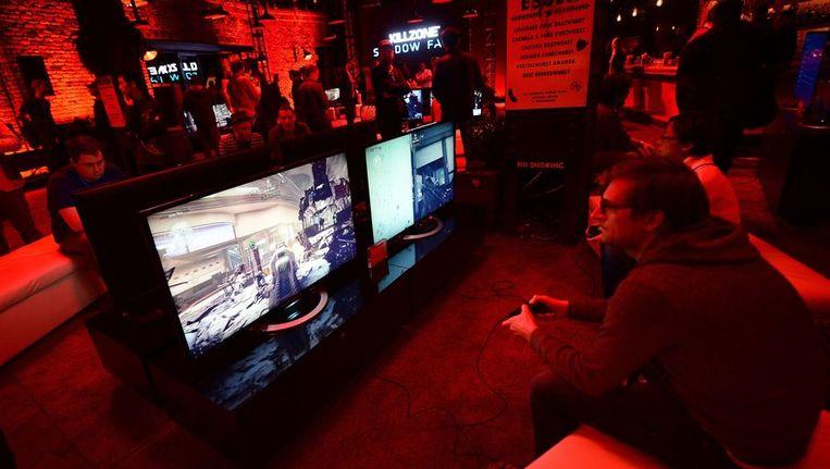 De visuele sprong die de console maakt is voorlopig nog zo klein dat alleen het geoefende oog van een 'echte' gamer het opmerkt, aldus recensent Ronald Meeus. Beeld AFP
