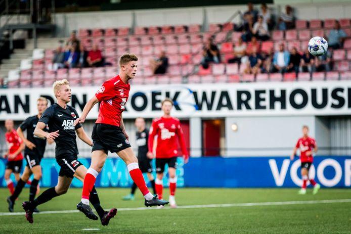 Het was niet de avond van Jelle Goselink, die hard werkte, ook kansen kreeg, maar niet wist te scoren.