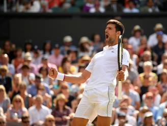Titelverdediger Djokovic mept zich een weg naar de finale op Wimbledon na rallygevecht met Bautista