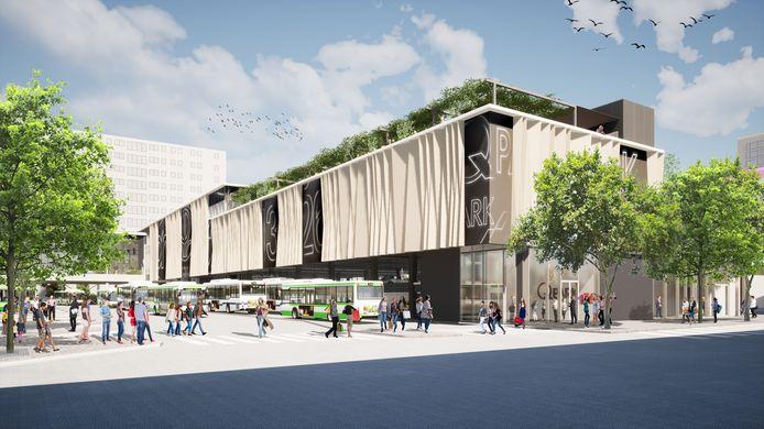 Zo gaat de uitbreiding van winkelcentrum Zuidplein er uitzien.