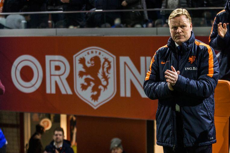 Ronald Koeman maakte als bondscoach van het Nederlands elftal weer een winnend collectief.  Beeld Brunopress