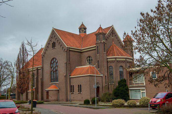De Johannes de Doperkerk in Ewijk.