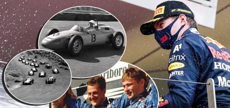Zes historische F1-momenten: van primeur op Zandvoort tot (papa) Jos naast Schumi