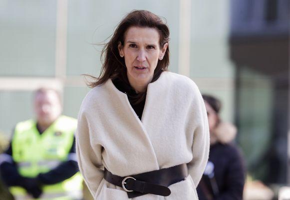 De Belgische premier Sophie Wilmès.