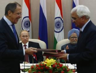 Rusland en India sluiten voor miljarden wapenakkoorden tijdens bezoek Poetin