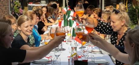 Leenderhof ondergedompeld in Italiaanse sferen