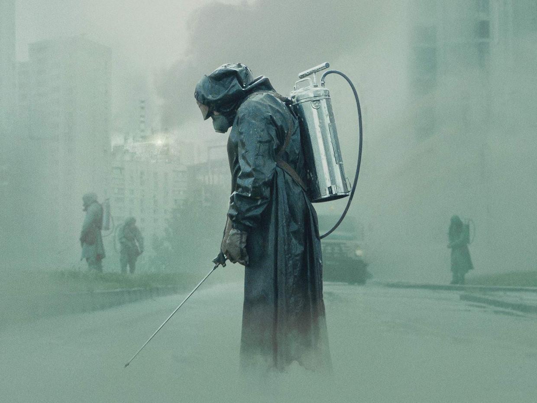 Scène uit 'Chernobyl'.