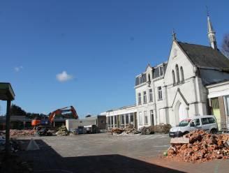 Afbraak oude gebouwen Heilige Familieschool gestart