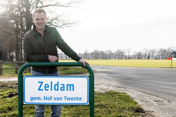 Robbert Vehof, voorzitter van Stichting Buurtbelangen Wiene-Zeldam