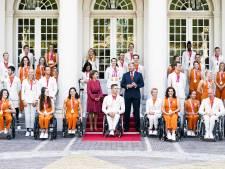 Gouden paralympiërs Rogier Dorsman en Chantalle Zijderveld geridderd: 'Geweldig knappe prestaties'
