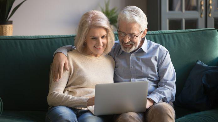 Klanten krijgen hypotheekadvies op dit moment vooral via online videogesprekken, het zogenoemde beeldbellen.