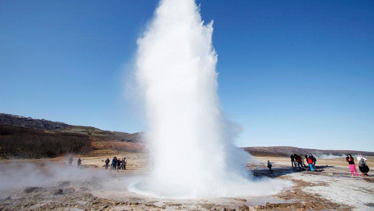 Een geiser in IJsland. Beeld REUTERS