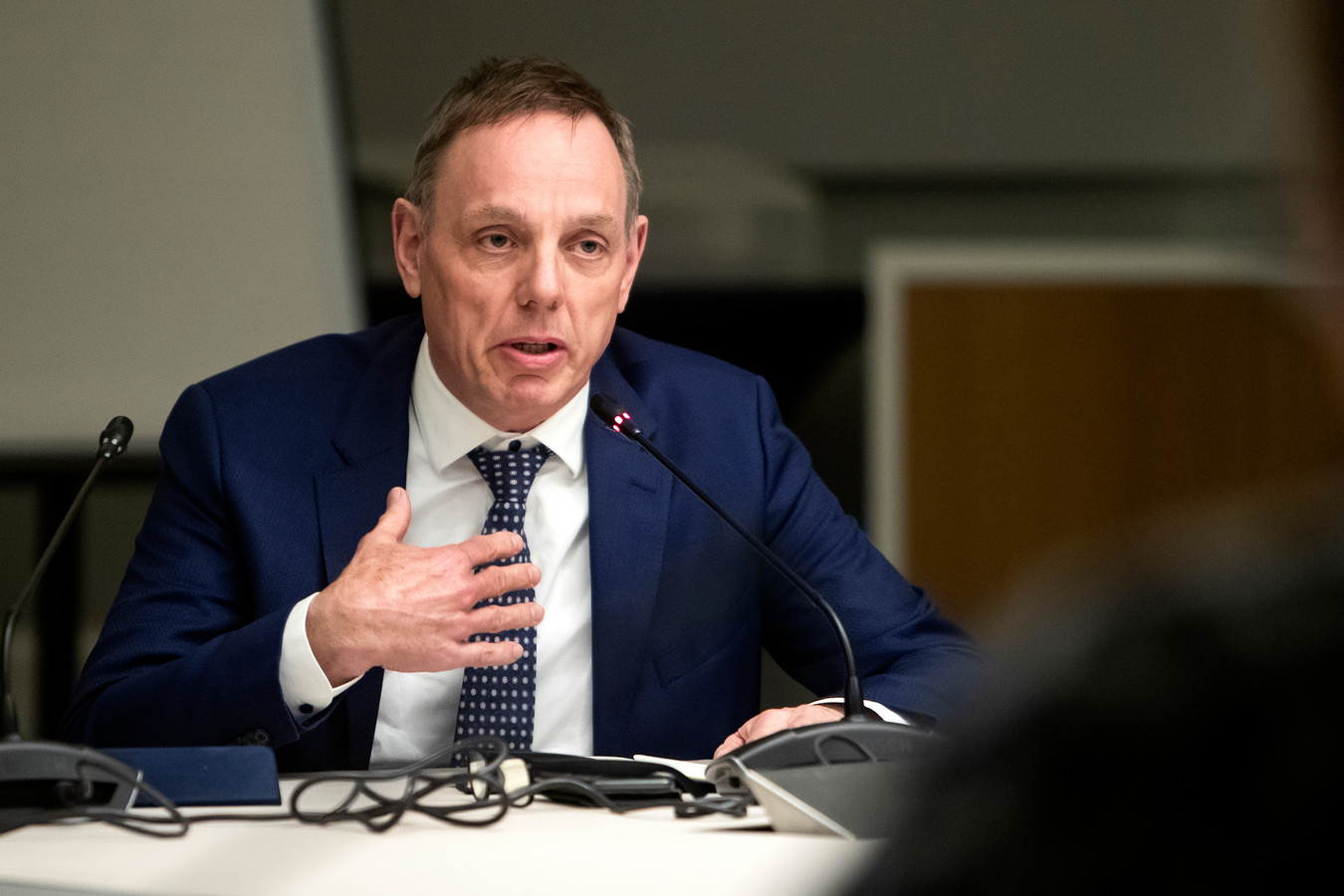 Ron König, burgemeester van Deventer en waarnemend voorzitter van Veiligheidsregio IJsselland.