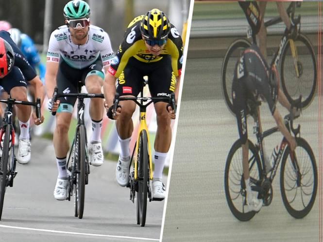 Een paar millimeter verschil! Van Aert wint Amstel Gold Race na prangende sprint tegen Pidcock