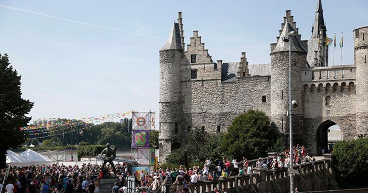 Antwerps steen krijgt makeover en wordt toeristisch onthaalcentrum binnenland de morgen - Steen en constructie ...