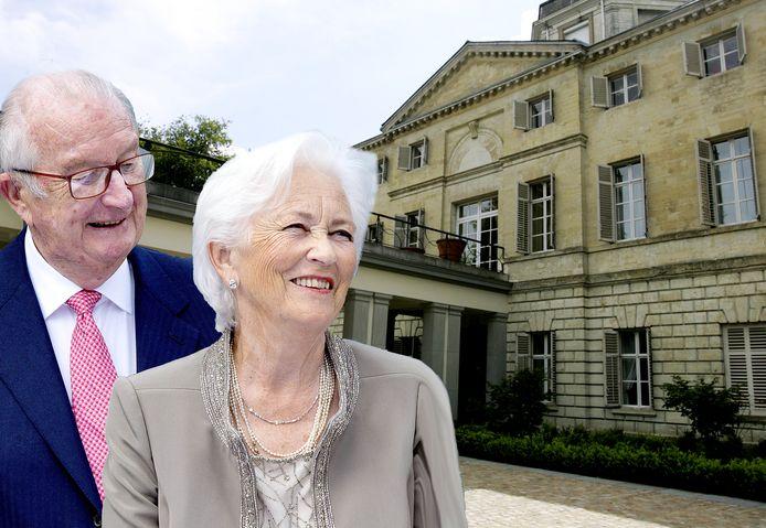 Kasteel Belvédère is één van de verschillende koninklijke residenties op het domein in Laken.