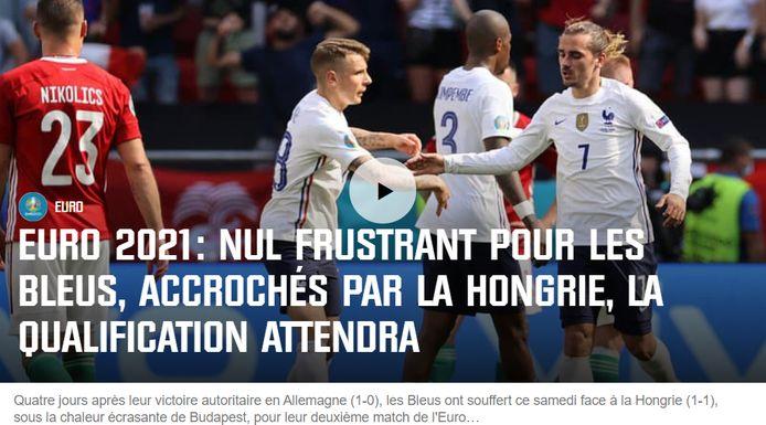 RMC over de Franse nationale ploeg.