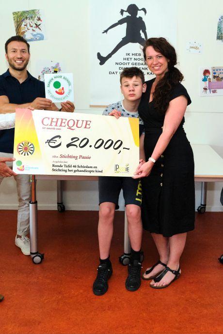 Op deze manier biedt reguliere Schiedamse school onderdak aan speciale klas