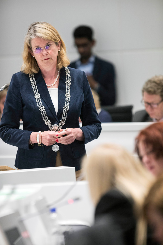 Spoeddebat over steekpartij 5 mei burgemeester Krikke.(Den Haag 17-05-18) Foto:Frank Jansen