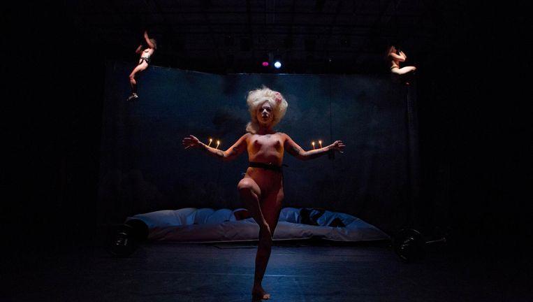 Scène uit Apollon Musagète. Beeld Foto Radovan Dranga