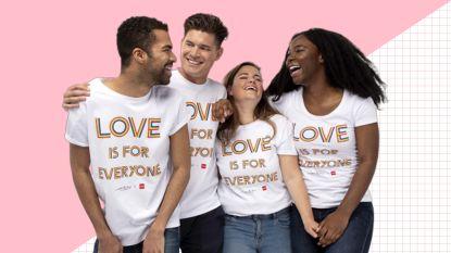 Designerkledij bij de Hema: Viktor & Rolf maakt shirt voor Pride