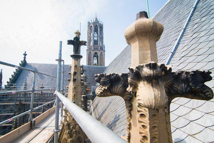 De Domkerk in Utrecht stond de afgelopen jaren voor herstel en onderhoud in de steigers.