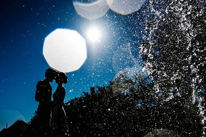 Prijswinnende foto van bruidsfotografe Jill Streefland.